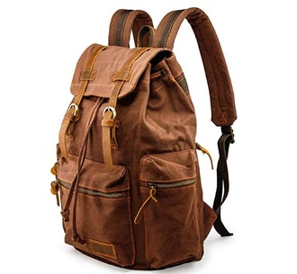 GEARONIC TM Men 21L Vintage Canvas Backpack