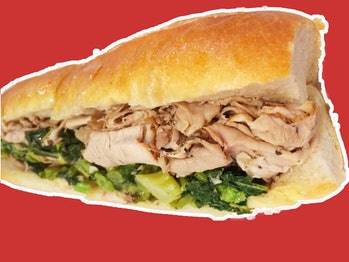 DiNic's Roast Pork sandwich