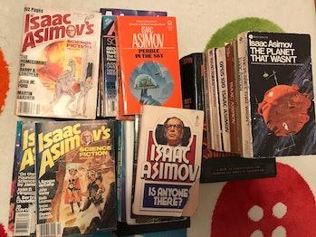 Asimov books