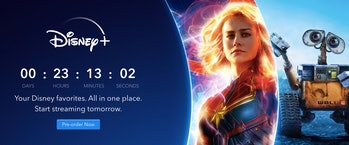 Disney+ release time (option 1)