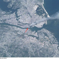 Photo: The 9/11 Attacks, as Seen From the International Space Station