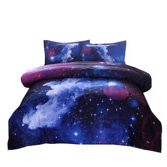 Galaxy Comforter Set