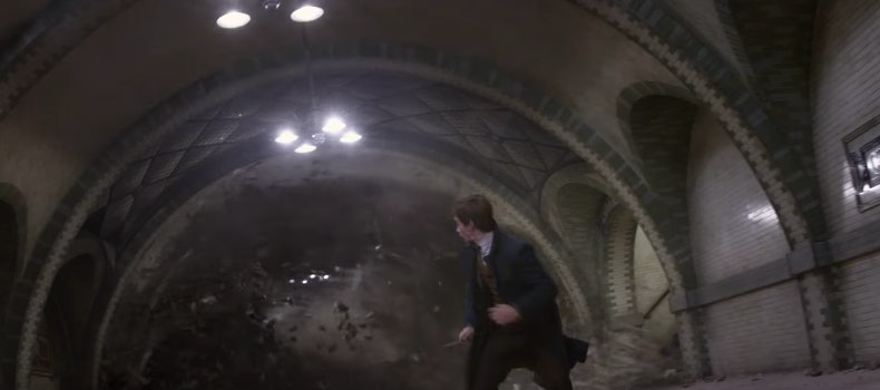 Possible Obscurus in 'Fantastic Beasts and Where to Find Them'