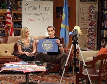 Kaley Cuocoand Jim Parsons