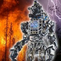 Balancing Algorithm Developed for Humanoid Atlas Robot