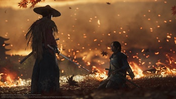 ghost of tsushima sucker punch ps4 sony