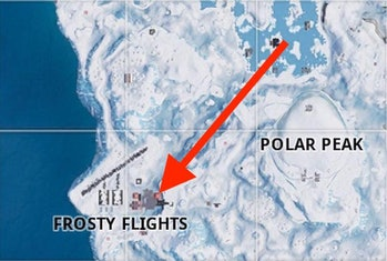 'Fortnite' Week 2 Snowfall Hidden Banner Location