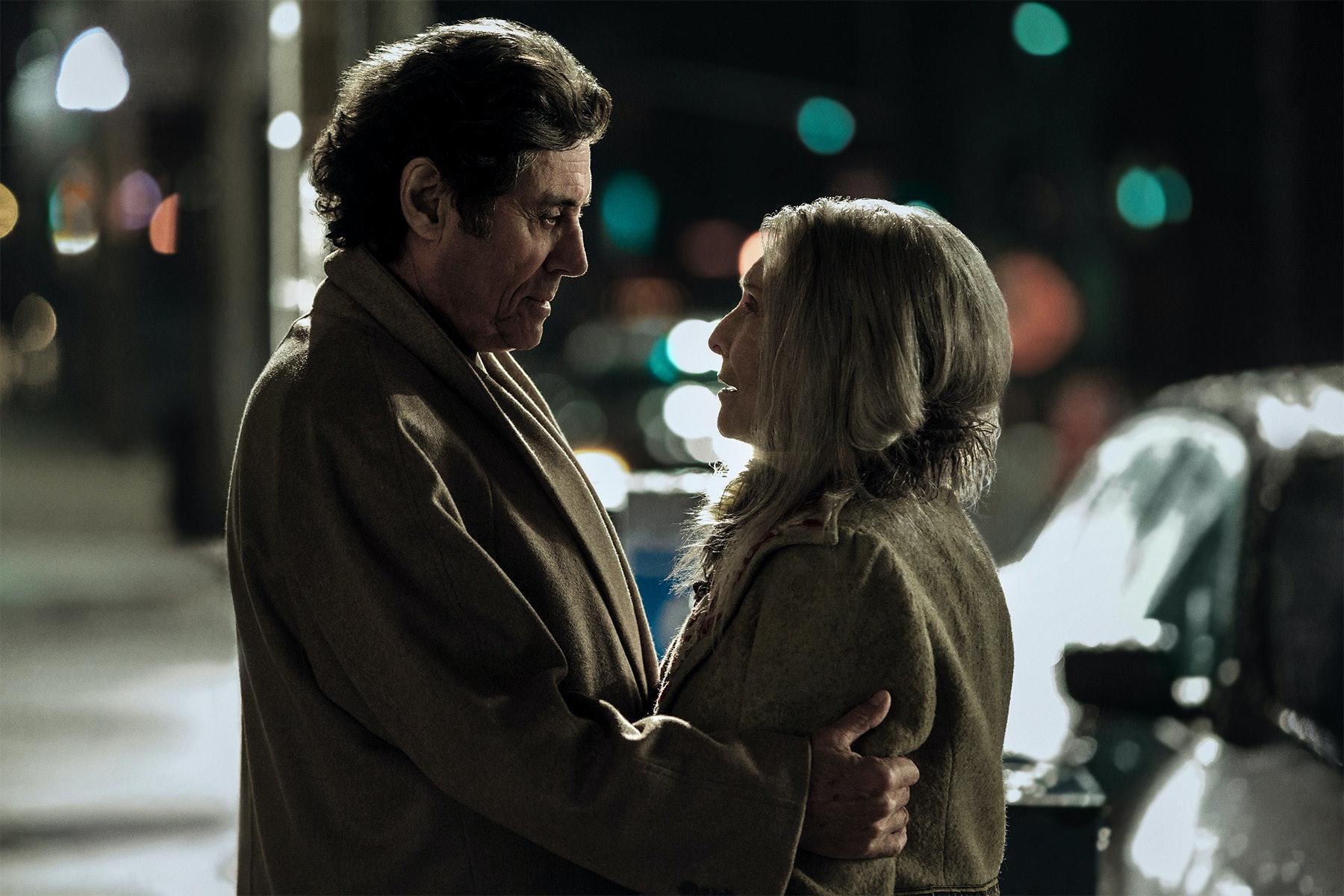 Ian McShane and Cloris Leachman in 'American Gods'