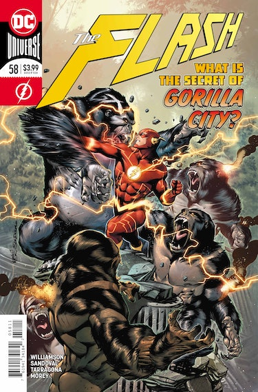 Flash 58 DC Comics