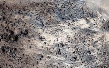 Mars topography
