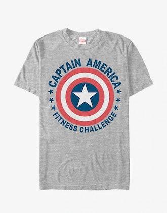 MARVEL CAPTAIN AMERICA SHIELD CHALLENGE T-SHIRT