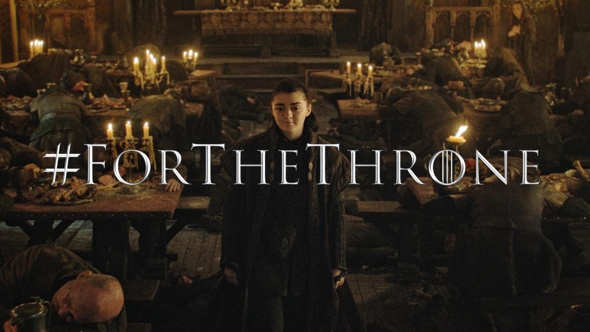 game of thrones season 8 finale series hbo arya stark maisie williams