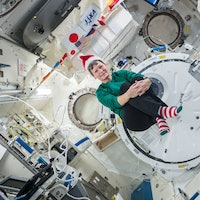 Here's a Look at How Christmas is Celebrated in Space