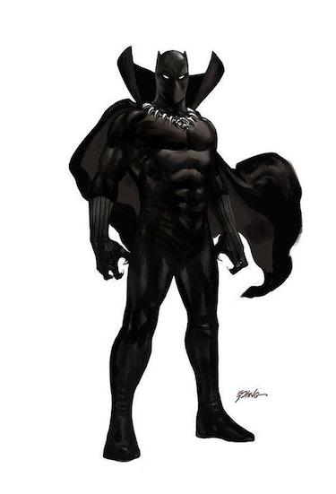 Marvel Black Panther Steve Epting