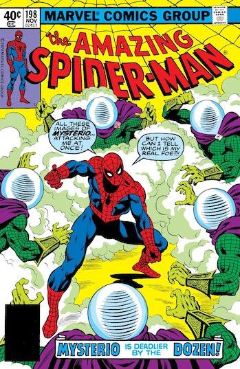 Spider-Man Mysterio Marvel Comics