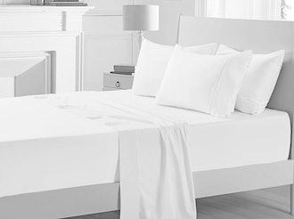 Pizuna 400 Thread Count Queen Cotton Sheets