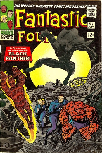 Black Panther Fantastic four