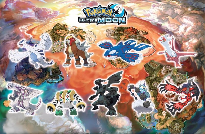 'Ultra Moon' gets Lugia? Sign us up.