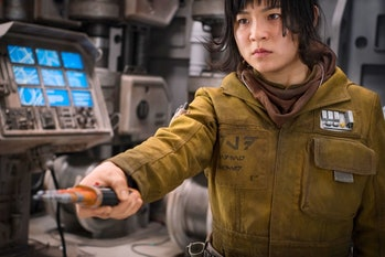 Kelly Marie Tran as Rose Tico in 'Star Wars: The Last Jedi'.
