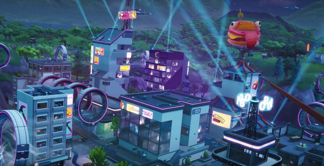 Slipstreams in Neo Tilted Towers
