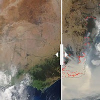 Devastating photos show before and after of Australia fires