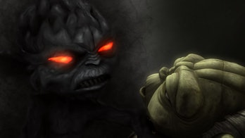Yoda faces a dark version of his inner self in 'The Clone Wars'.