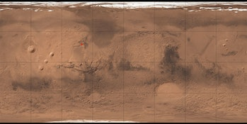 mars map lobo vallis
