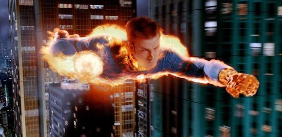 Human Torch Fantastic 4