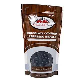 Hoosier Hill Farm Gourmet Dark Chocolate-Covered Espresso Beans (2 lb Bag)