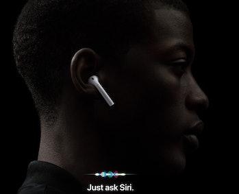 apple airpods update hey siri support