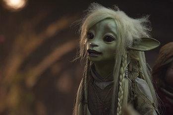 Deet (voiced by Nathalie Emmanuel) is a Gelfling living in Thra in 'The Dark Crystal: Age of Resistance'