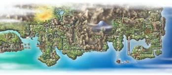 The Johto and Kanto Regions