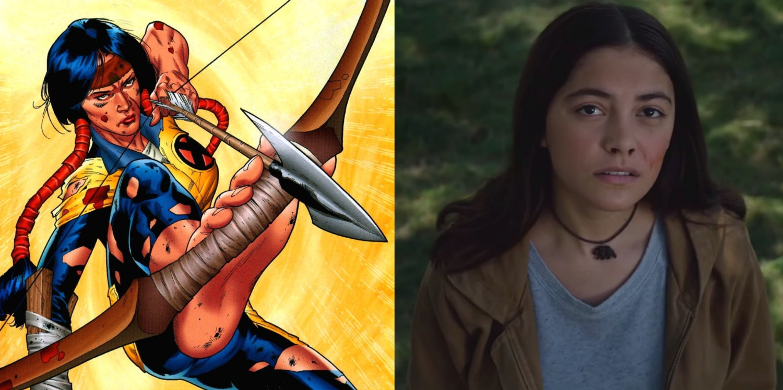 Blu Hunt as Dani Moonstar in 'The New Mutants'.