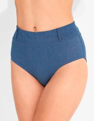 HER UNIVERSE DOCTOR WHO THIRTEENTH DOCTOR HIGH WAISTED SWIM BOTTOMS