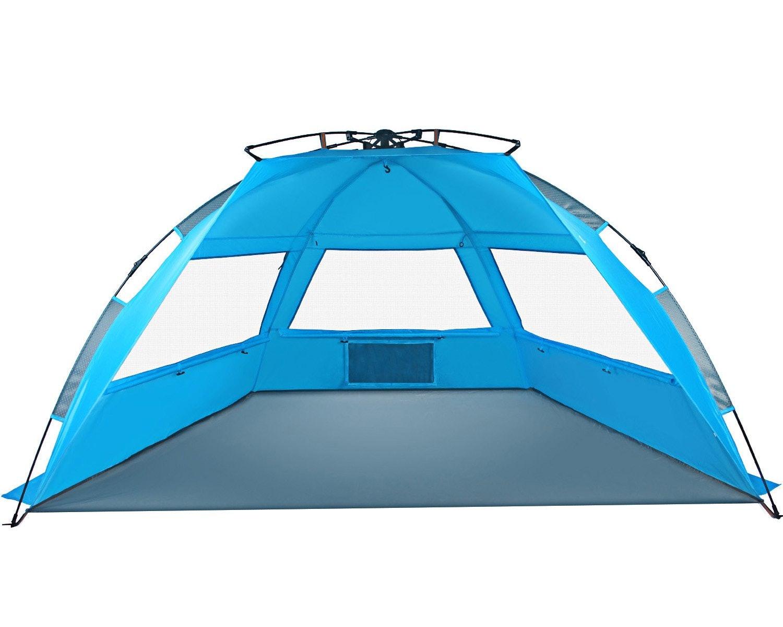 Tagvo Pop Up Beach Tent Sun Shelter