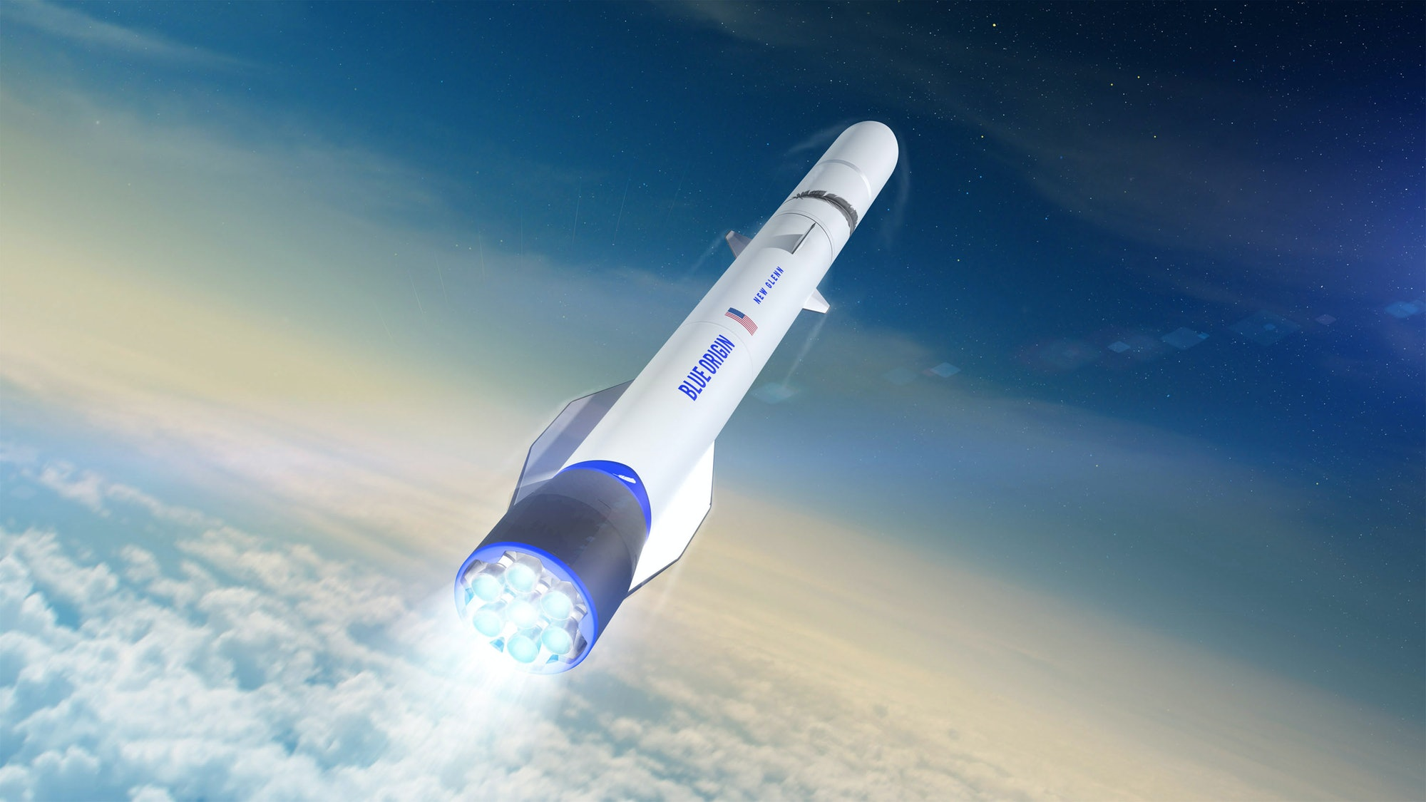 new glenn launch