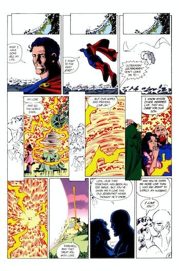 Crisis on Infinite Earths Arrow White Light