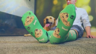Personalized Animal (or Human) Face Socks