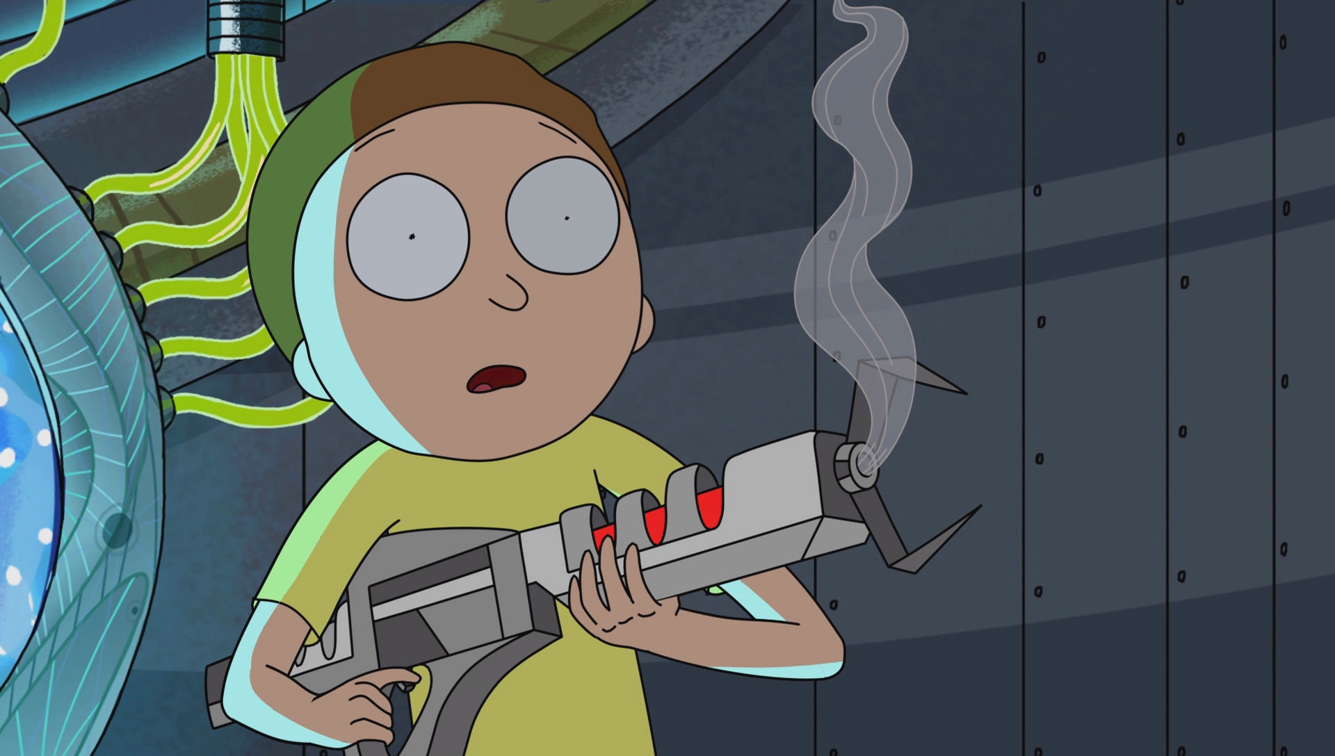 Morty gets his first kill within 20 minutes on 'Rick and Morty'.