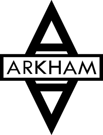 "ARKHAM ASYLUM 5.5"" Logo Decal DC COMICS BATMAN Sticker"