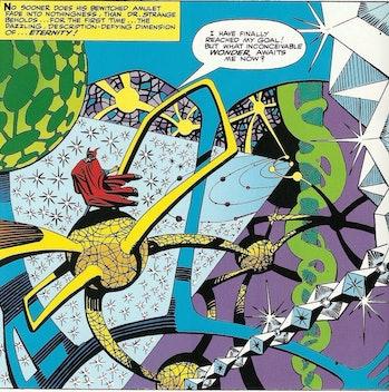 Doctor Strange Comic Panel from Marvel Comics