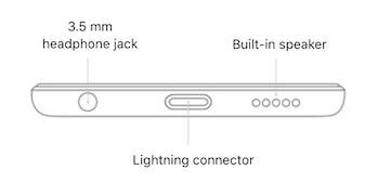 Apple iPod headphone jack diagram