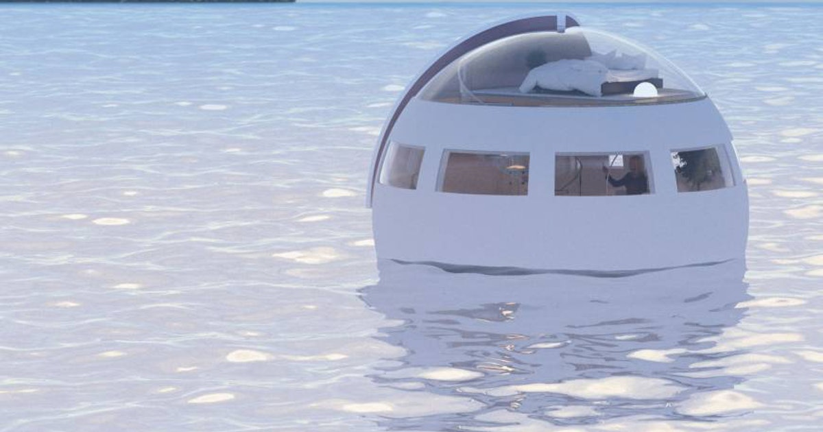 Japanese Theme Park to Launch Floating Hotel Pods in 2017