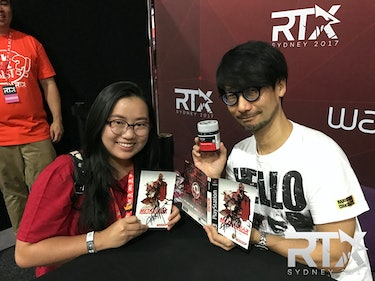 RTX Rooster Teeth Sydney Hideo Kojima