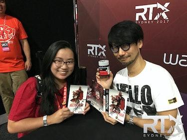 RTX Rooster Teeth Sydney Hideo Kojima