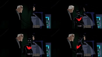 justice league unlimited old bruce wayne batman beyond