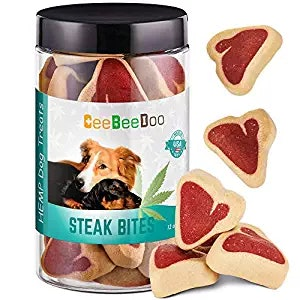 A photo of CBD dog treats.