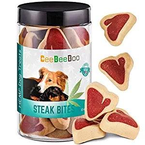 A photo of CBD dog treats.