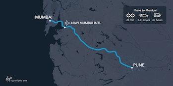 Mumbai to Pune.