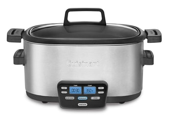 A slow cooker that preps dinner while you are out